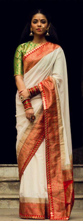 Silk Saree by Ayush Kejriwal