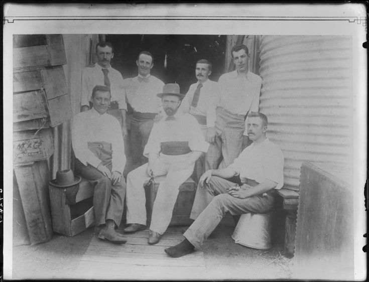 101807PD: Men relaxing near water tank, 1890s? http://encore.slwa.wa.gov.au/iii/encore/record/C__Rb2649066__S101807pd__Orightresult__U__X3?lang=eng&suite=def