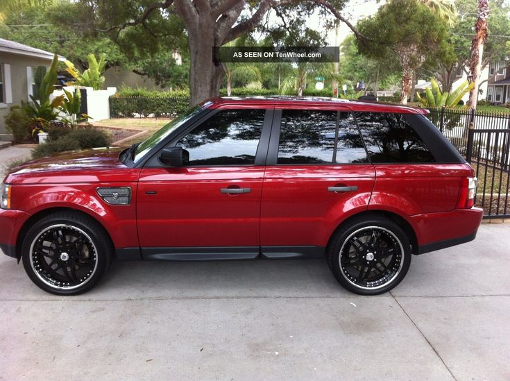 red ranger roover | 2006 Range Rover Sport Strut Edition. Loaded. Rimini Red / Charcoal ...