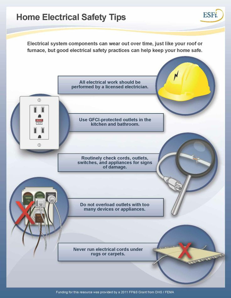 20 best electrical and fire safety images on pinterest for Fire prevention tips for home