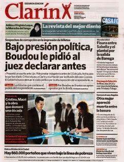 OpinionPublicaSantafesina(ops): tapas de diarios argentinos de hoy