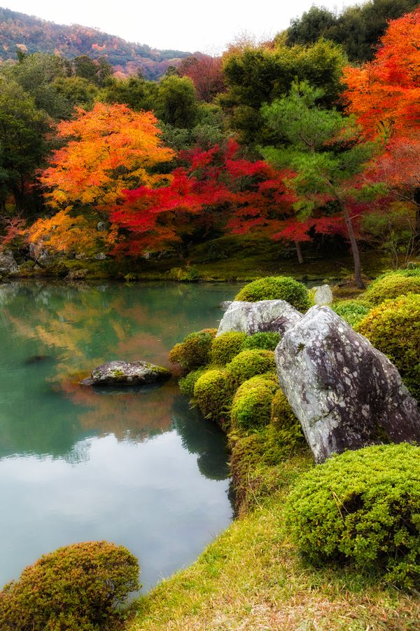 "Japanese Garden/ Photo""Reflection"" by Yoshitada Kurozumi"