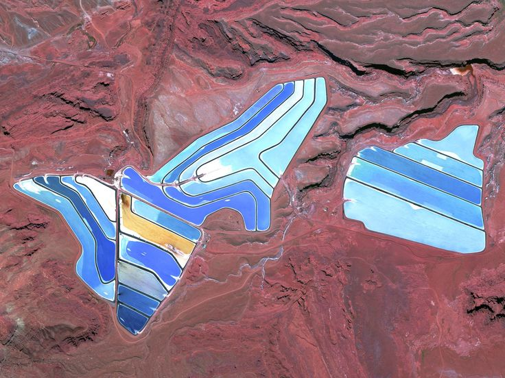 Intrepid Potash Mine in Moab, Utah