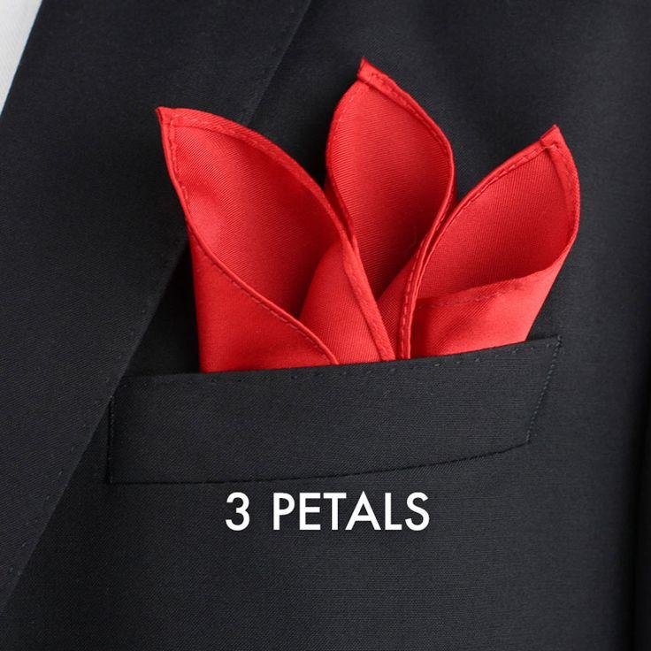pocket handkerchief folding instructions