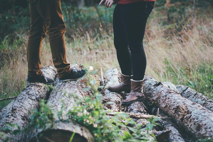 Engagement shoot at Shearwater Lake.  Charlotte & Will - Blog Matt Fox Photography // Warminster, Crockerton
