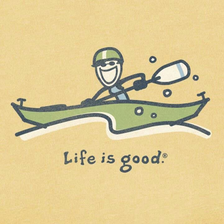 Life is Good: Kayak                                                                                                                                                                                 Más