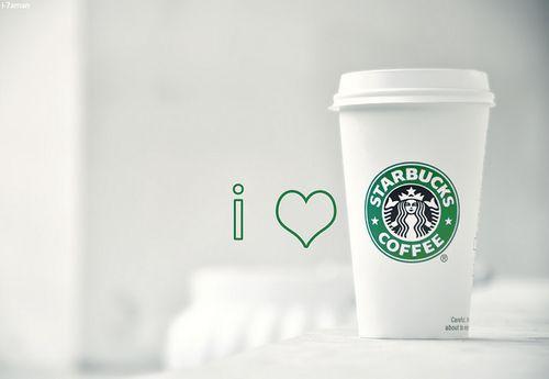 i ♥ HEART Starbucks all February!  http://www.1YearOfMyLife.wordpress.com  #Starbucks #LoveStarbucks @Starbucks Loves Loves Loves