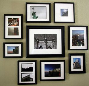 壁にフォトフレームやポストカードを飾りたい!飾り方と取付方法は。