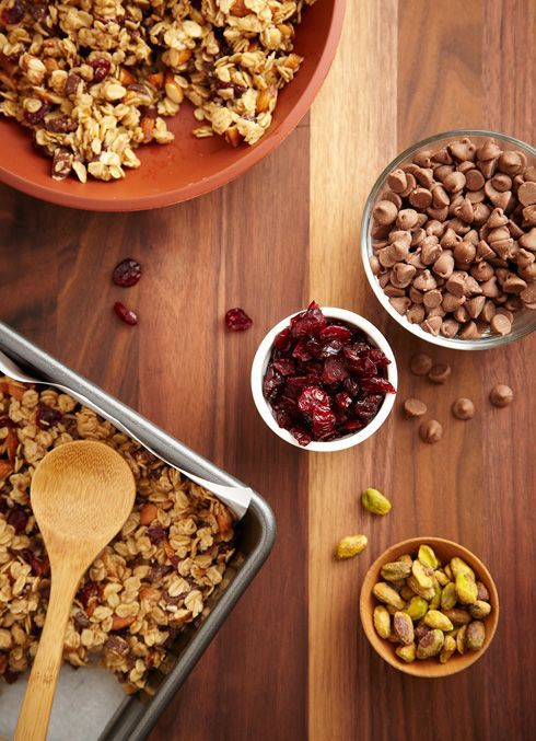 Vous saurez exactement ce qui se trouve dans vos barres granola, avec nos trois recettes simples et rapides. Pour obtenir d'autres recettes classiques comme celle-ci, visitez P&G au quotidien dès aujourd'hui!