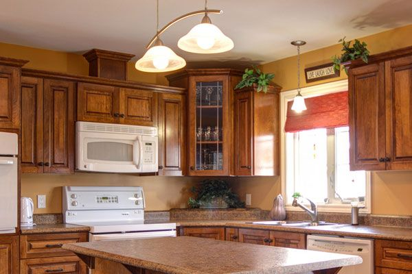40 The Best of Painting Colors For Kitchens Walls Ideas : Golden And Light Brown Painting Colors For Kitchen Walls
