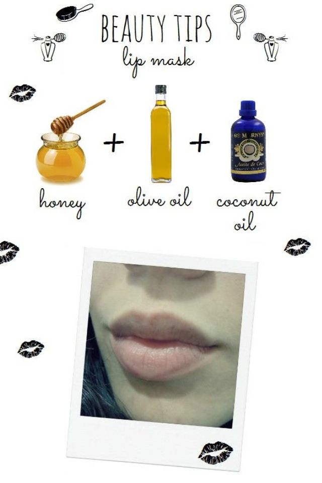 Beauty Tips : maschera DIY con ingredienti naturali per le labbra.