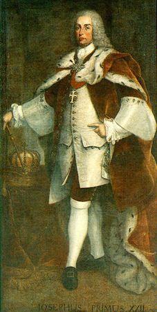 Retrato de D. José I Autores:Aparício, Francisco José (Vila Franca de Xira, 170... - 1787) Gonçalves, André (Lisboa, 1687 - 1762) Datação:1750 d.C. - 1760 d.C.
