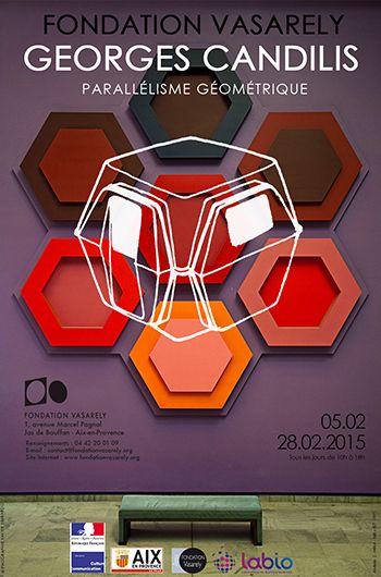 Exposition George CANDILIS, parallélisme géométrique - du 5 au 28 février 2015 à la Fondation Vasarely