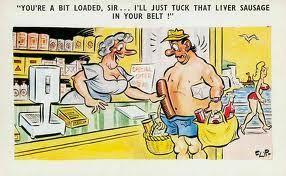 seaside comic postcards - Google Search