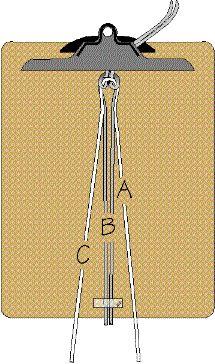 3/23/13 Macrame Bracelet Step by step