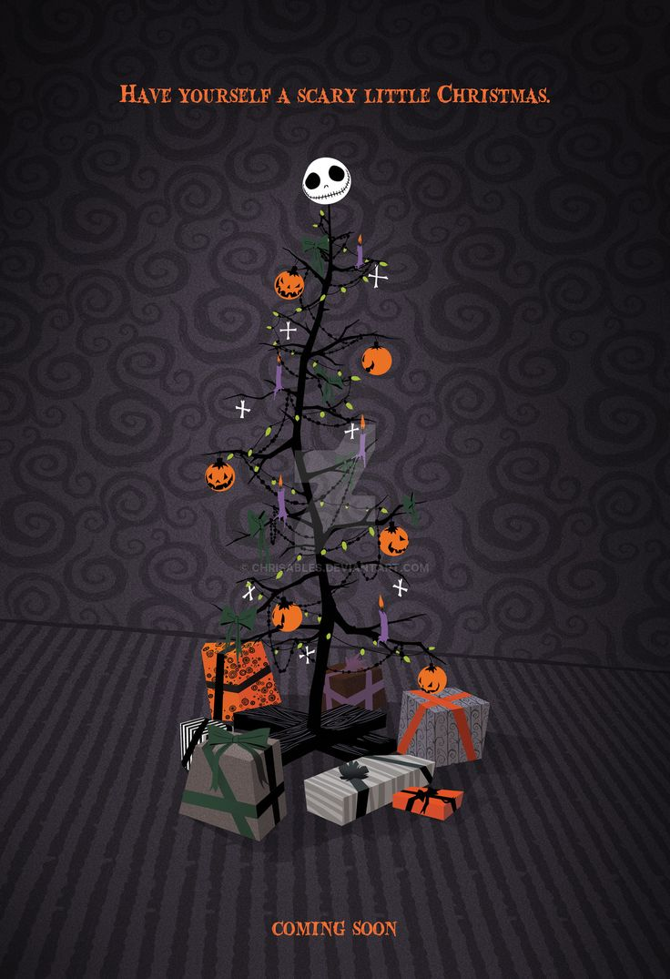 Pictures of Nightmare Before Christmas Poster - kidskunst.info