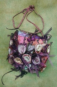 Silk Sushi Bag, Silk & Textile Creative Embroidery Kit - out of stock at the moment, but worth remembering.