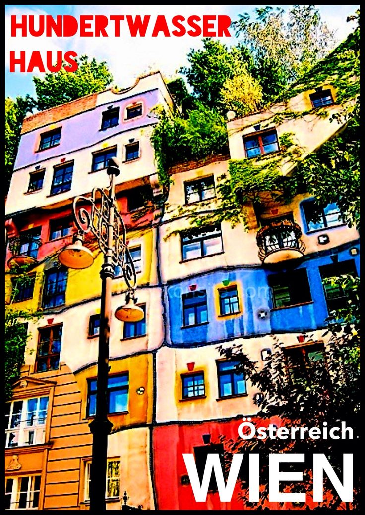 Wien - Phoster Hundertwasser Haus