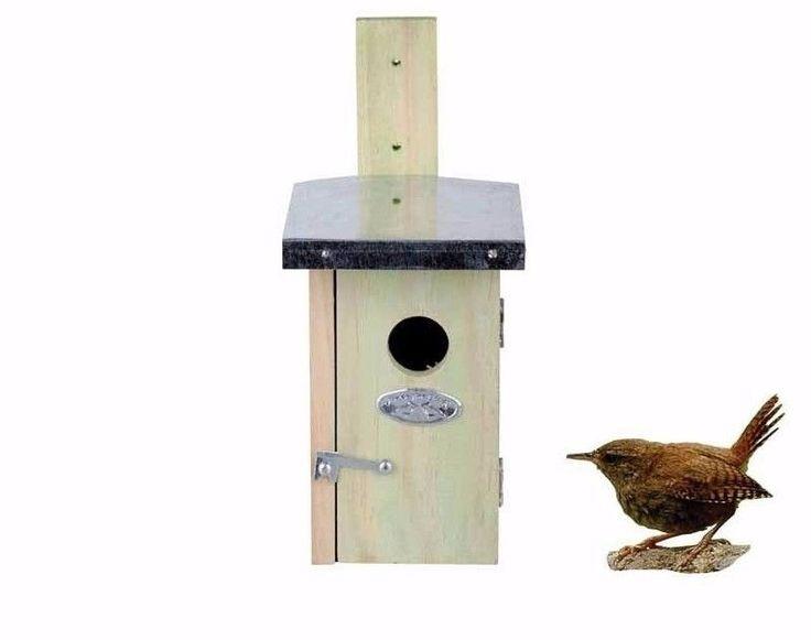 Nistkasten für Zaunkönig Vogelhaus mit Zinkdach NKN  | eBay