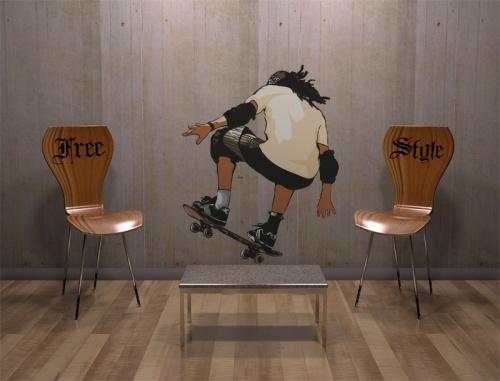 Stickers skater  http://www.idzif.com/idzif-deco/stickers-muraux/stickers-destroy/stickers-sport/produit-stickers-skater-1065.html