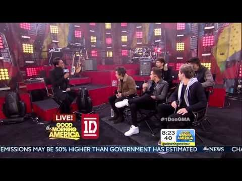 ▶ One Direction being interviewed on GMA (11/26/13)