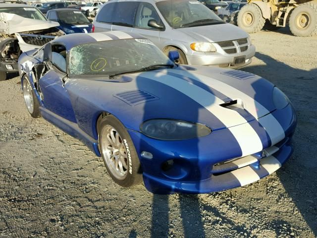 Salvage 1996 Dodge Viper Gts Coupe For Sale Salvage Title