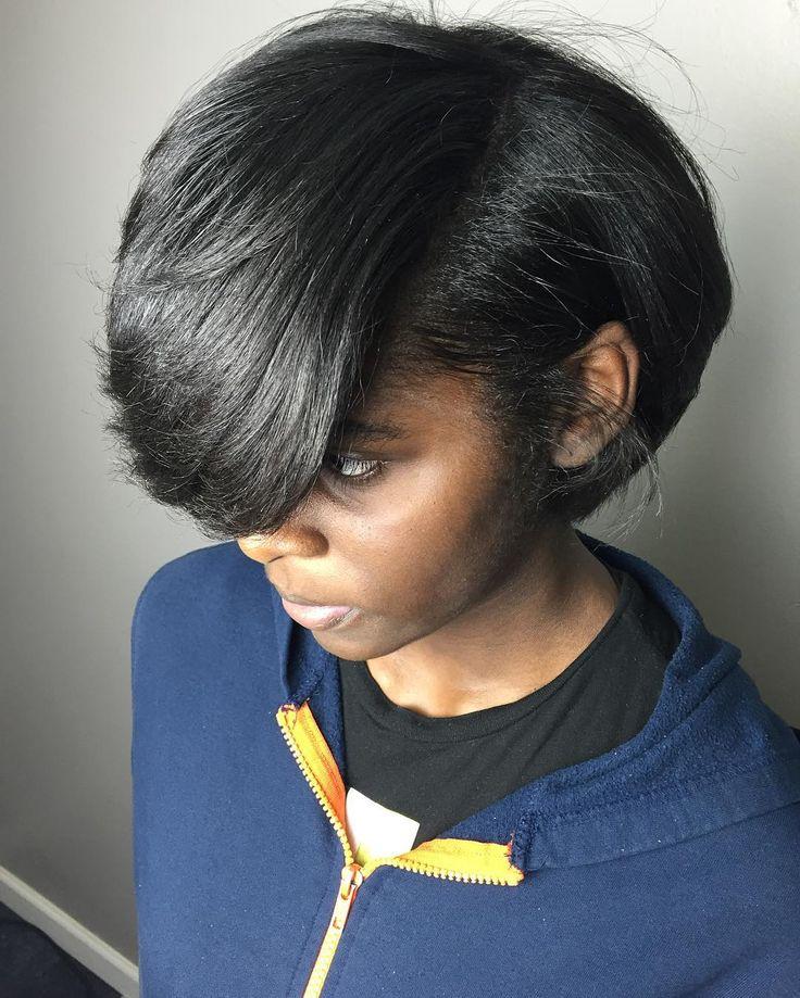 ️head Full Of Thick Beautiful Natural Hair Silk Press