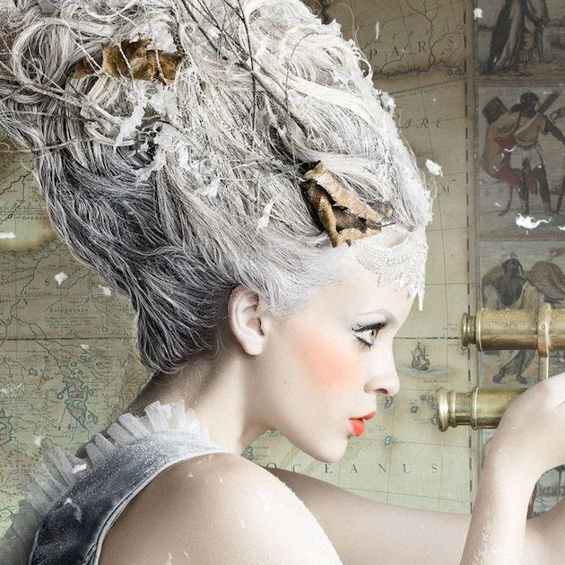 Fairytale fashion fantasy/karen cox...  Alexia Sinclair takes you to her dazzling imagination 17th-century castle journey: A Frozen Tale