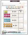 Primer Grado & guardería hojas de trabajo de matemáticas y Documentos PDF para imprimir