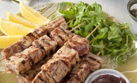 miso glazed tuna kebabs recipes dishmaps miso glazed tuna kebabs ...