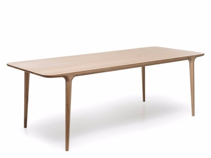 Rectangular Oak Dining Table FAWN TABLE