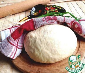 """Рецепт: Тесто для вареников и пельменей """"Мамино"""""""