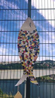 DAR MAIS EB1: Decoração da festa - as sardinhas