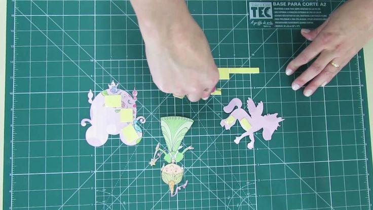 Lançamento - Kit folhas para Scrapbook - Princesas Delicadas...s2  4 modelos para dar aquele TOKE na decoração dos projetos artesanais! Gramatura: 180g/m² - Medidas: 305 x 315 mm.