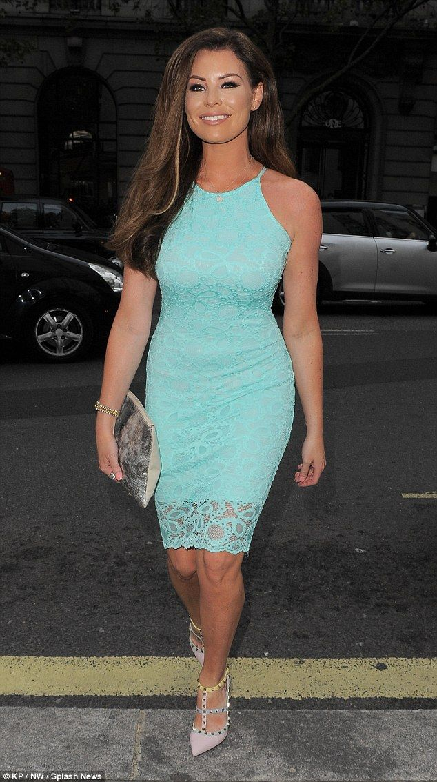 Jessica Wright was on hand to support Michelle Keegan at the launch of her new Lipsy clothing collection on Thursday