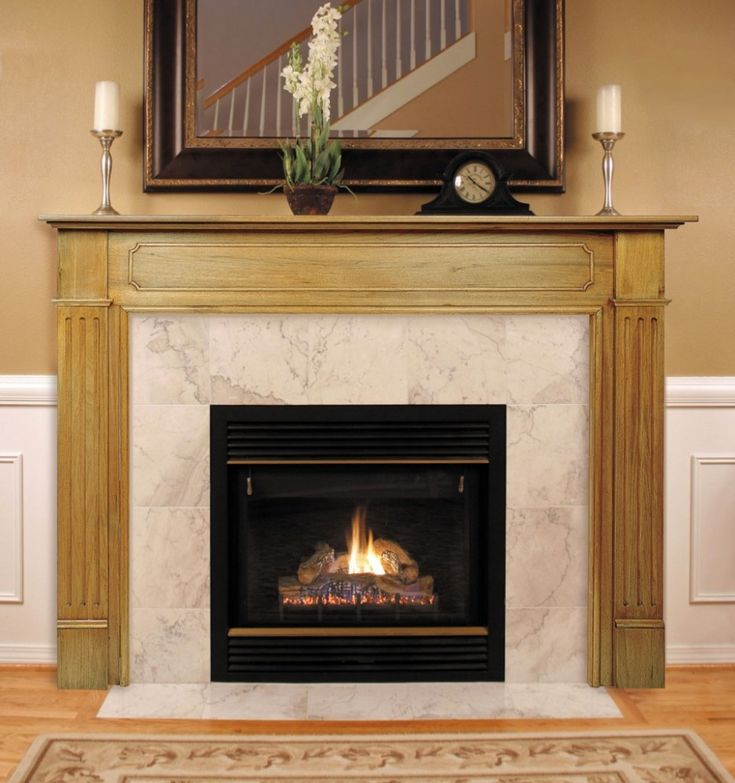 Fireplace Mantel Kits Improving Fireplaces For The Good Taste Elegant Wooden Ceramic Design With Candles In Striking