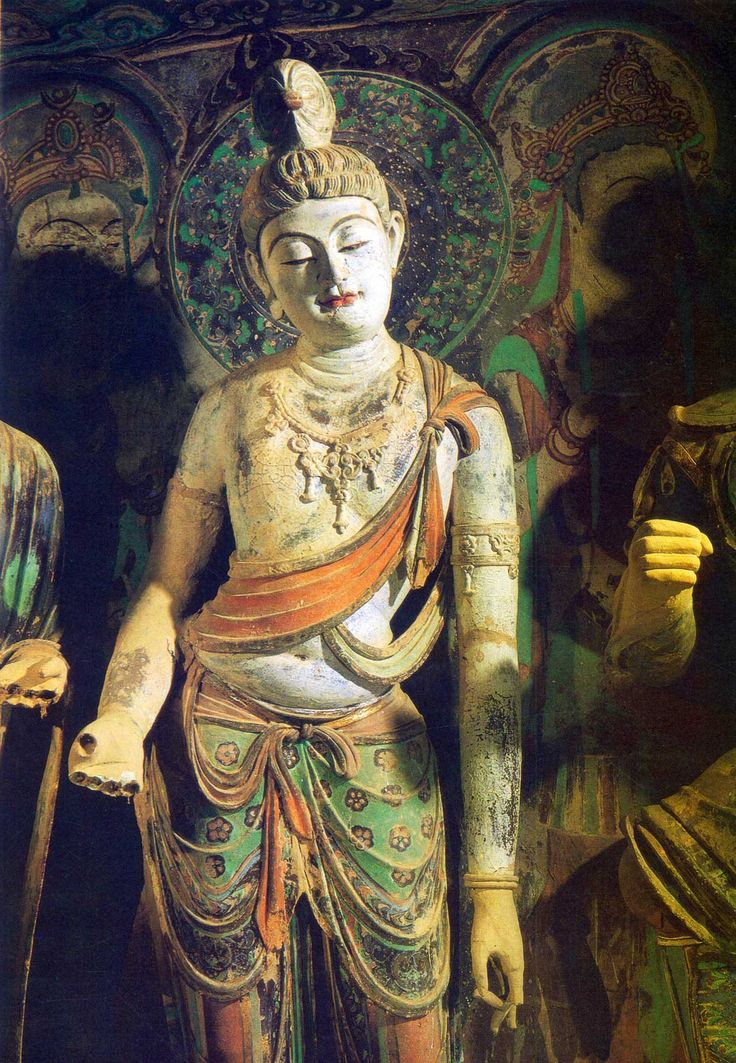 Mogao Caves / Mogao Grottoes / Caves of the Thousand Buddhas Dunhuang, China 敦煌莫高窟 More: http://mry-j.tumblr.com/post/63119927087/vasilyt-muskming-mogao-caves-mogao