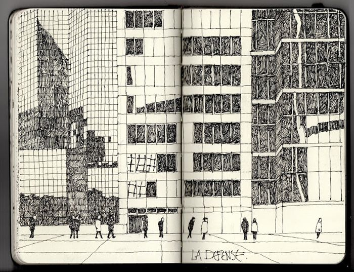 Sketchbook inspiration: Ian Sidaway