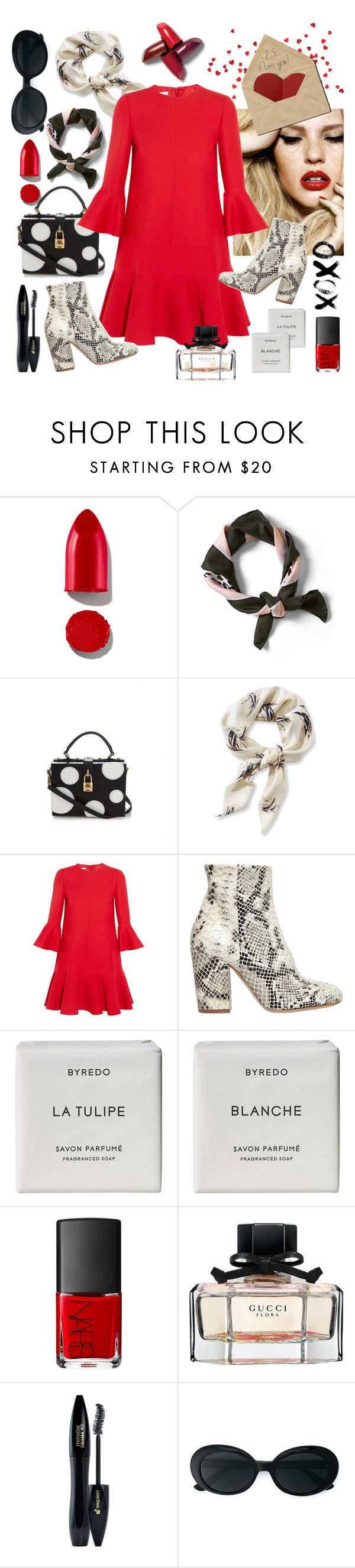 """""""Heart you very much"""" by sophier on Polyvore featuring Rodin, Banana Republic, Dolce&Gabbana, L.L.Bean, Valentino, Strategia, Byredo, Gucci, Lancôme and Yves Saint Laurent"""