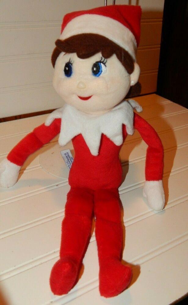 Christmas Elf Doll Elf On The Shelf Plush Dolls Girl Kid Figure