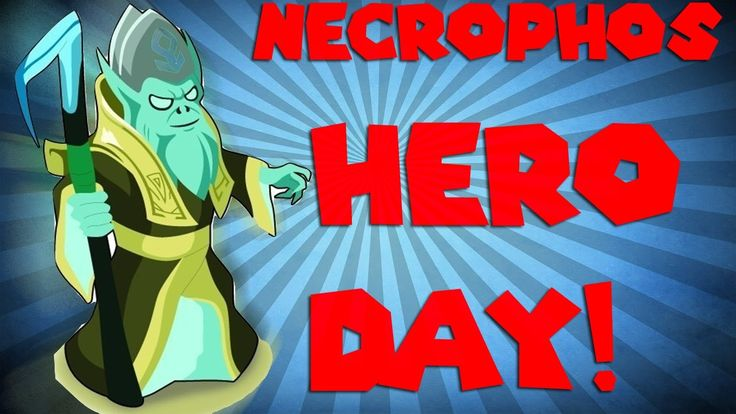 Dota 2 Hero Of The Day  -Necrophos || Дота 2 Герой Дня - Некропос