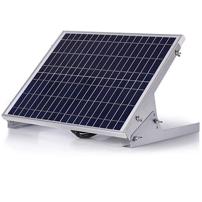 Suner Powe Adjustable Solar Panel Mount Racks Folding Mounting Tilt Brackets For Wall Roof Rv And Off Grid Solar Syst Solar Panel Mounts Solar Panels Solar