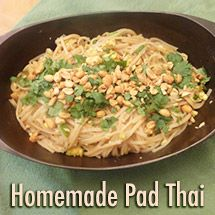Homemade Pad Thai - see the full recipe at this link: http://thepintertestkitchen.com/homemade-pad-thai/