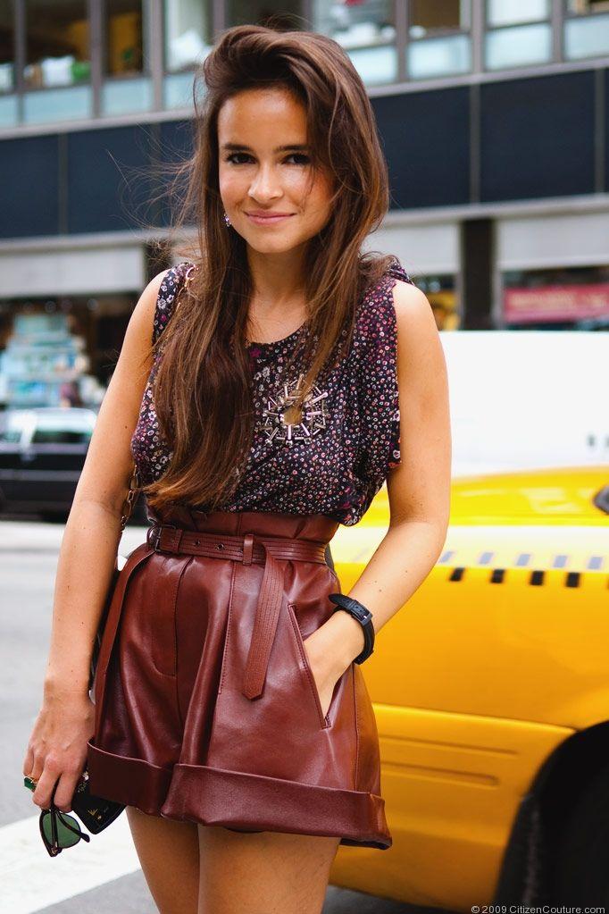 Miroslava Duma love the shorts!