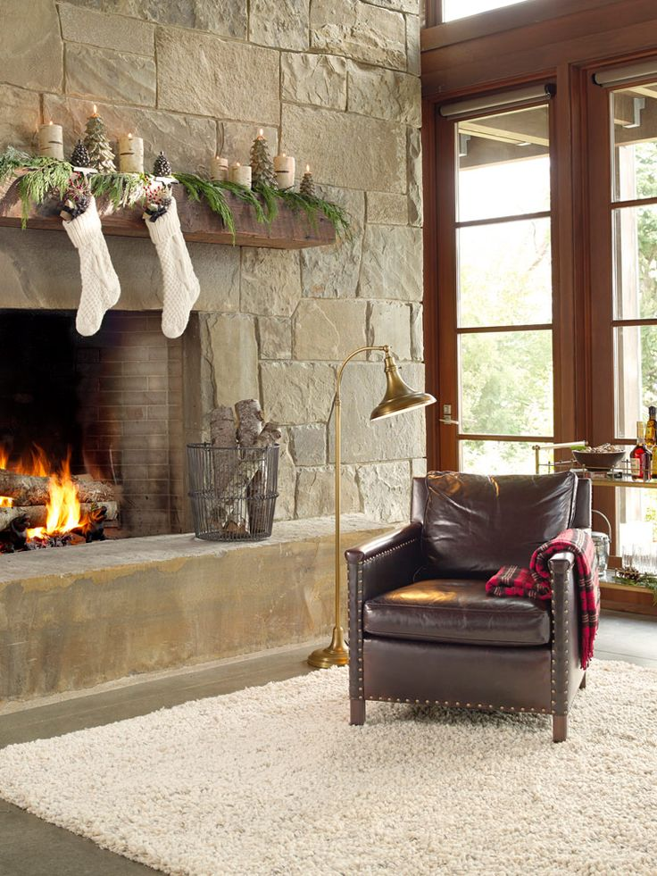 Rejuvenation Holiday: nothing is cozier than our luxurious York armchair next to a roaring fire.