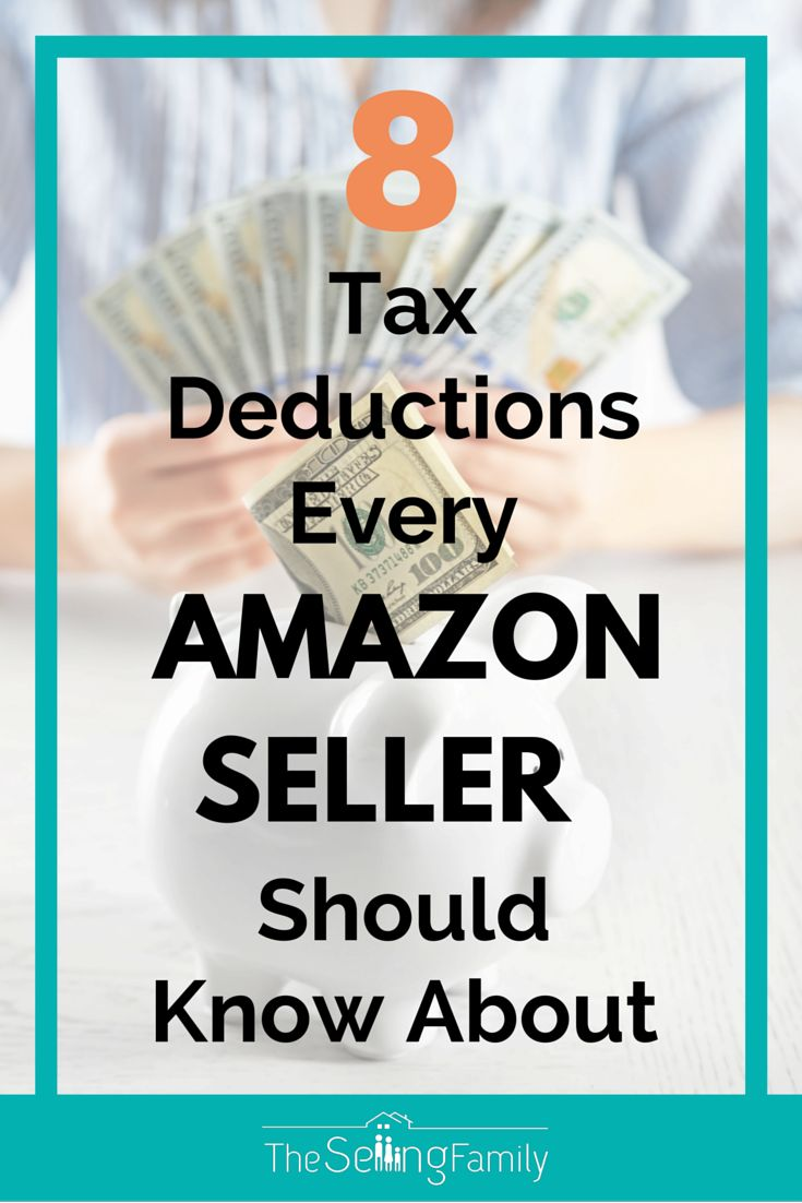 8 Tax Deductions Every Amazon Seller Should Know About