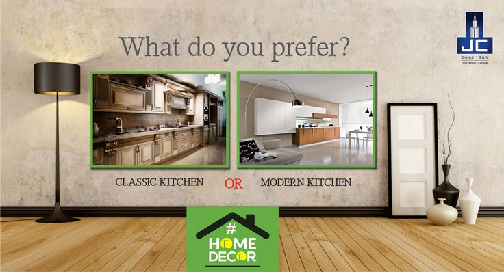 What do you prefer most Classic Kitchen or Modern Kitchen?