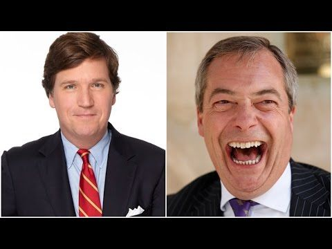 Nigel Farage HAMMERS Globalists On Tucker Carlson - YouTube
