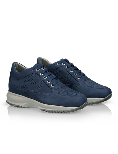 #HOGAN Women's Spring - Summer 2013 #collection: nubuck INTERACTIVE with perforated panels.