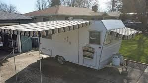 Image result for how to make a cheap canopy for trailer rv
